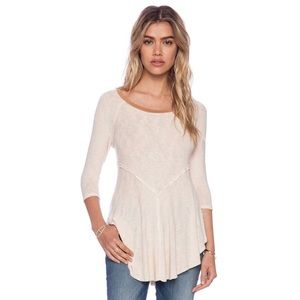 Intimately Free People Cream Weekend Layering Top